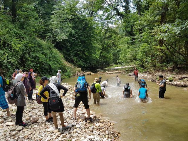 تور پلنگ دره (رودخانه نوردی) امرداد تور